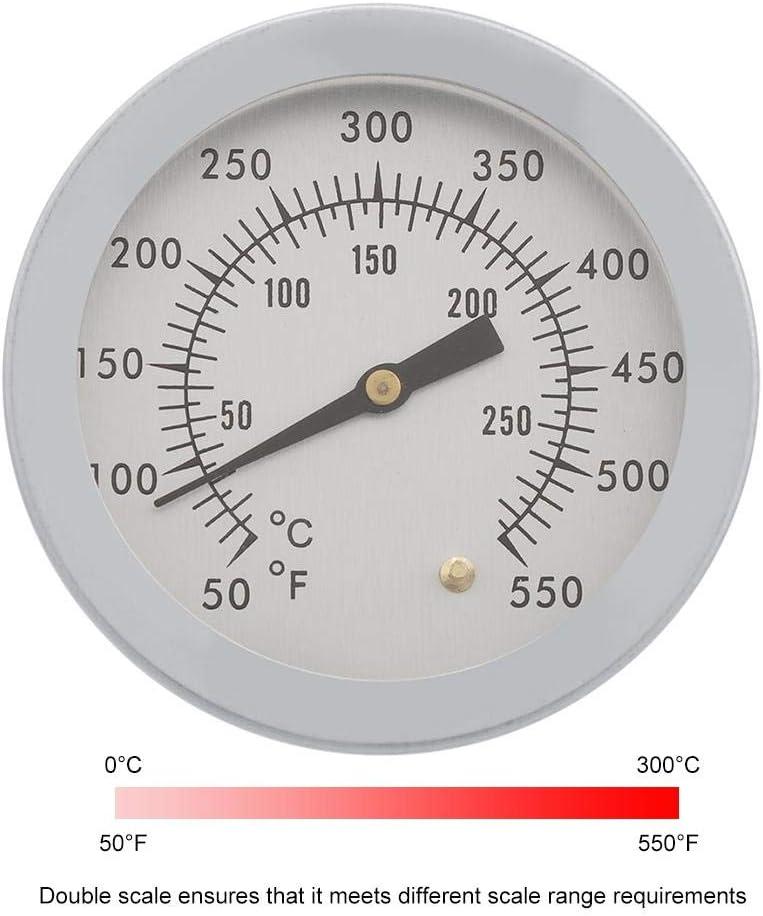 Grill Thermometer Smoker Edelstahl BBQ Räucherofen Gasgrill 550 ° F Neu