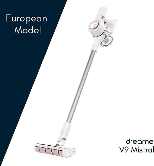 Dreame V9 Mistral - Aspirador sin Cables, Modelo Europeo, 100.000 RPM, 60 min, Blanco, 400 W: Amazon.es: Hogar