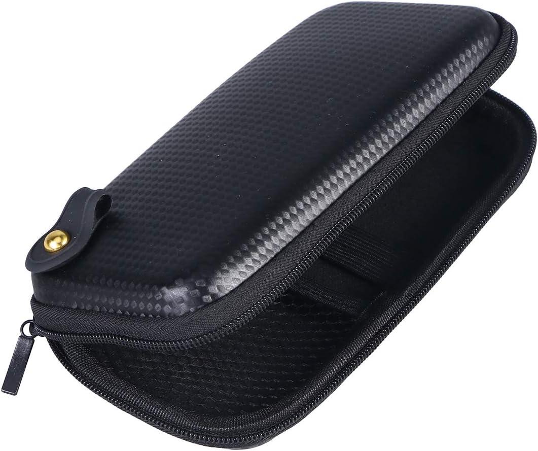 SUPVOX EVA Thermoforming caja de embalaje electrónico bolsa de almacenamiento de viaje que lleva la cubierta de la cremallera (negro)
