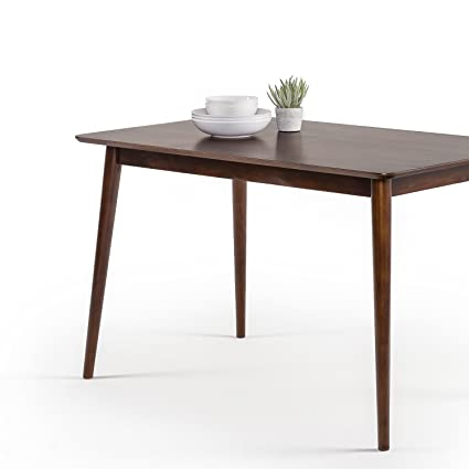 Remarkable Zinus Jen Mid Century Modern Wood Dining Table Espresso Home Interior And Landscaping Ologienasavecom
