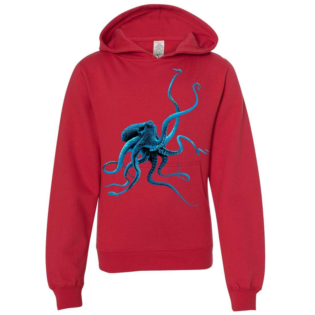 Dolphin Shirt Co Octopus Youth Sweatshirt Hoodie