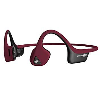Aftershokz Trekz Air Correr Auriculares Conducción Osea Bluetooth Inalambricos Deportivos para Maratón Ciclismo con microfono, Rojo: Amazon.es: Electrónica
