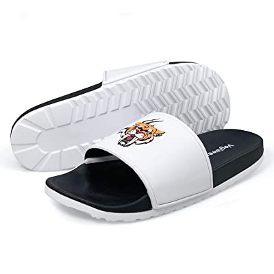 Voglawear Men's Sport Slide Sandal, Comfort Lightweight Anti-Slip Home Slipper | Shoes