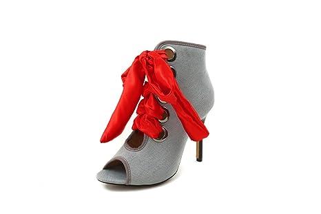 YU&XIN-Spring and Autumn Womens Shoes YU&Front - Corbata con Boca ...