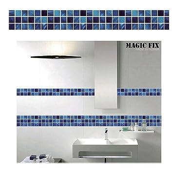 Velidy 10 100cm Fliesenaufkleber Kreative Mosaik Selbstklebende Pvc