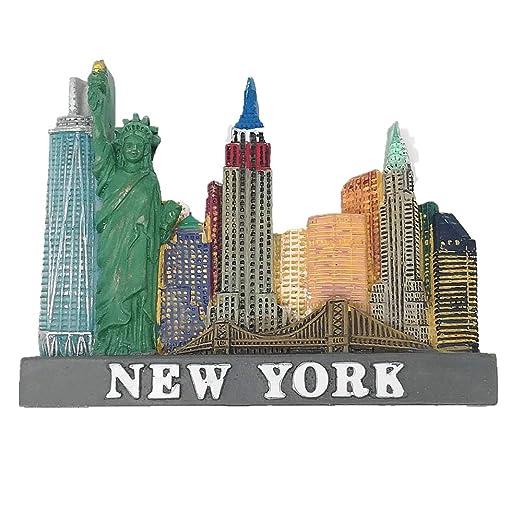 MUYU Magnet Imán 3D para Nevera de Nueva York EE. UU, Regalo de ...
