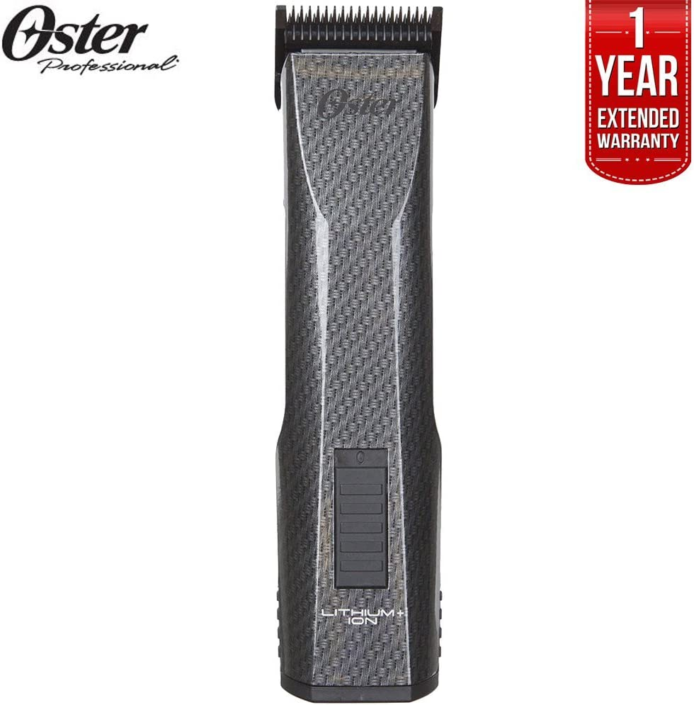 Oster Professional 76550-100 Octane Cordless Clipper + 1 Year Extended Warranty