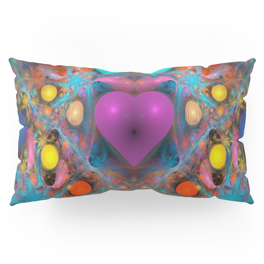 Society6 Peace Of My Heart Pillow Sham King (20'' x 36'') Set of 2