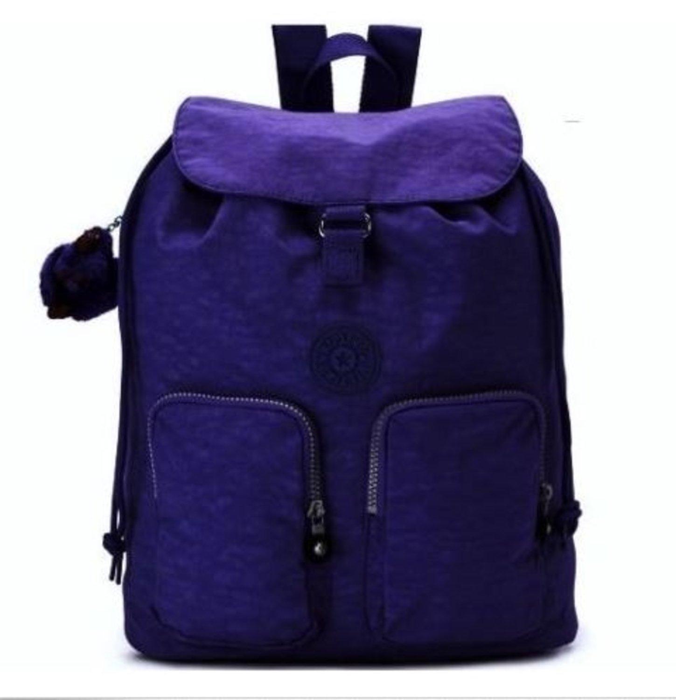 KIPLING Raychel Blueberry Pie Carry On Travel Laptop Backpack Bag