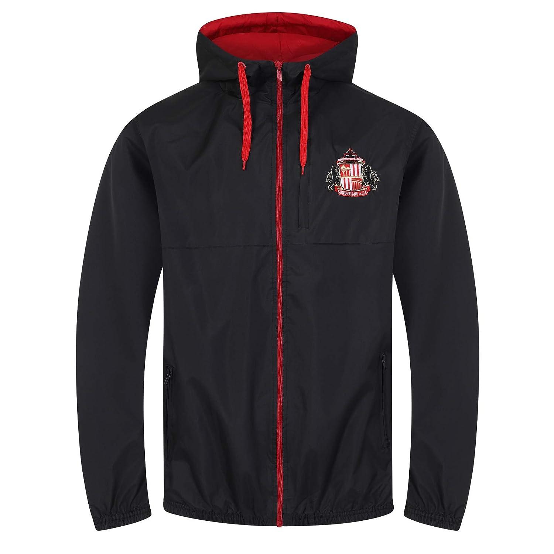 Sunderland AFC - Chaqueta Cortavientos Oficial - para Hombre ...