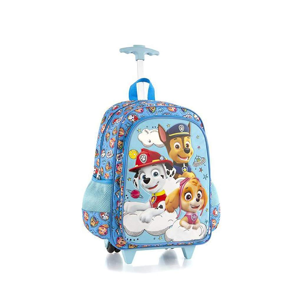 Nickelodeon Core 18 Inch School Bag Rolling Backpack for Kids [PAW Patrol] Heys