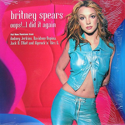 Britney Spears Oops I Did It Again 12 Vinyl Record 6 Remixes Amazon Com Music