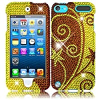 HR Wireless iPod touch 5 Full Diamond Cover (Elegant Swirl)