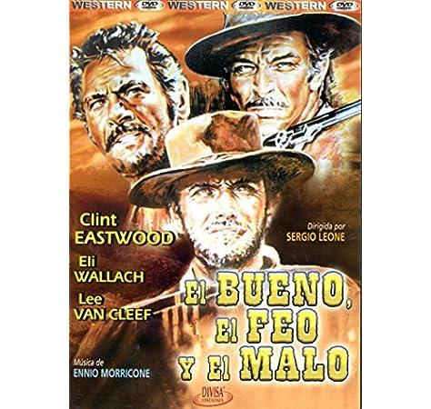Sergio Leone : La trilogie du dollar : Pour une poignée de dollars + Et pour quelques dollars de plus + Le bon, la brute et le truand DVD: Amazon.es: Clint Eastwood,