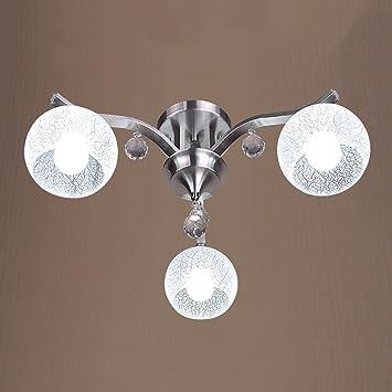 Sala De La Lámpara De Techo Redondo LED 3 Lámparas De ...