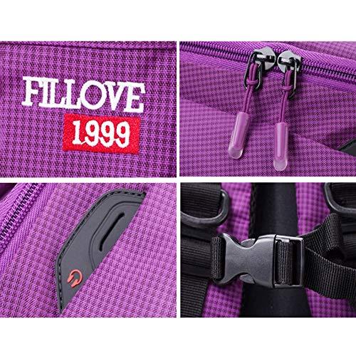 Estudiantes Cremallera Ligero Capacidad Mochila Estudiante Laptop Mujeres Impermeable Con Hombres Jybag Funcional Deportes Femenino Campus Purple Ocio Para Gran Viajes xTFvIqUAw