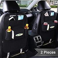 AB SALES Vehicle Car Back Seat Mounted Hanging Organizer Bag Set of 2 Pcs-CB07