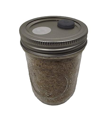 BRF Jars Brown Rice Flour Mushroom Substrate