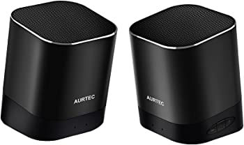 Aurtec Portable Wireless Bluetooth Speaker Set