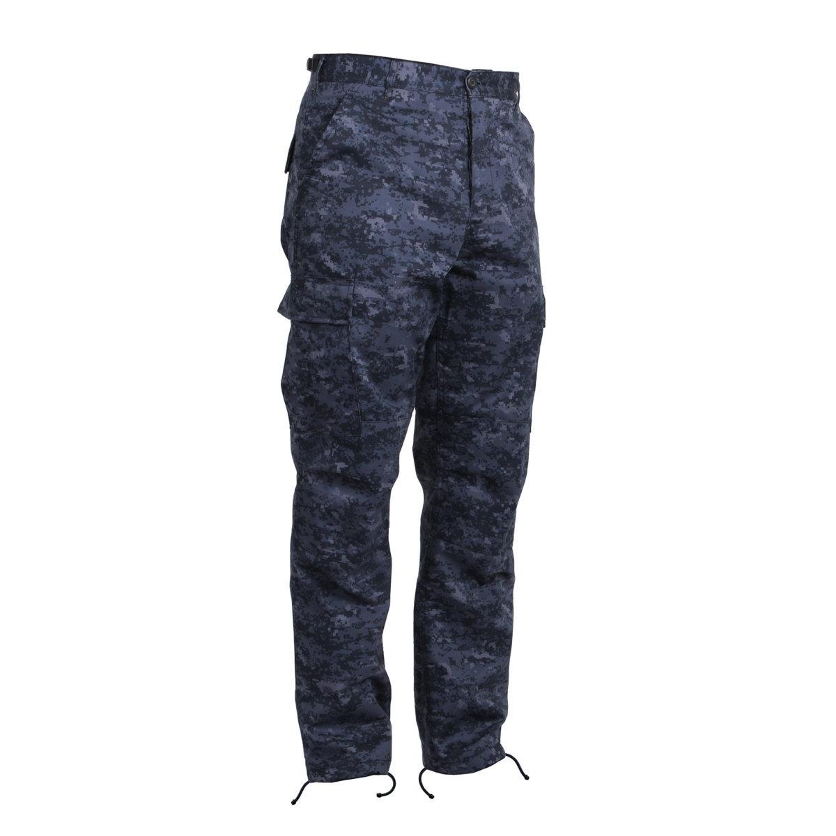 Rothco Tactical BDU Pants, Midnight Digital Camo, Small 15129