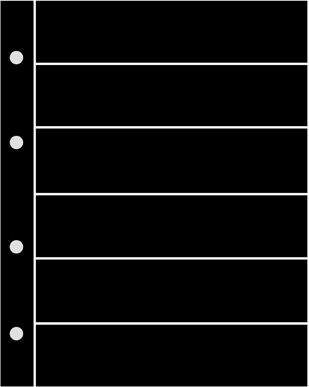 3 Prophila Kobra Double-Sided stocksheets 6 Pockets 6-Way Division