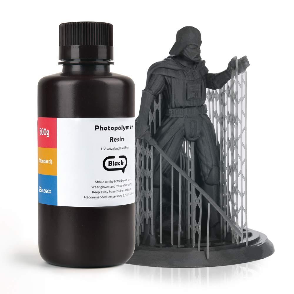 ELEGOO - Resina 3D de resina rápida LCD con curado UV, 405 nm ...