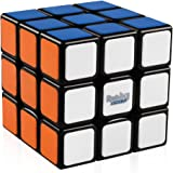 D-FantiX Rubik's Speed Cube 3x3, Gan RSC Rubiks Speed Cube 3x3x3 Puzzle Black