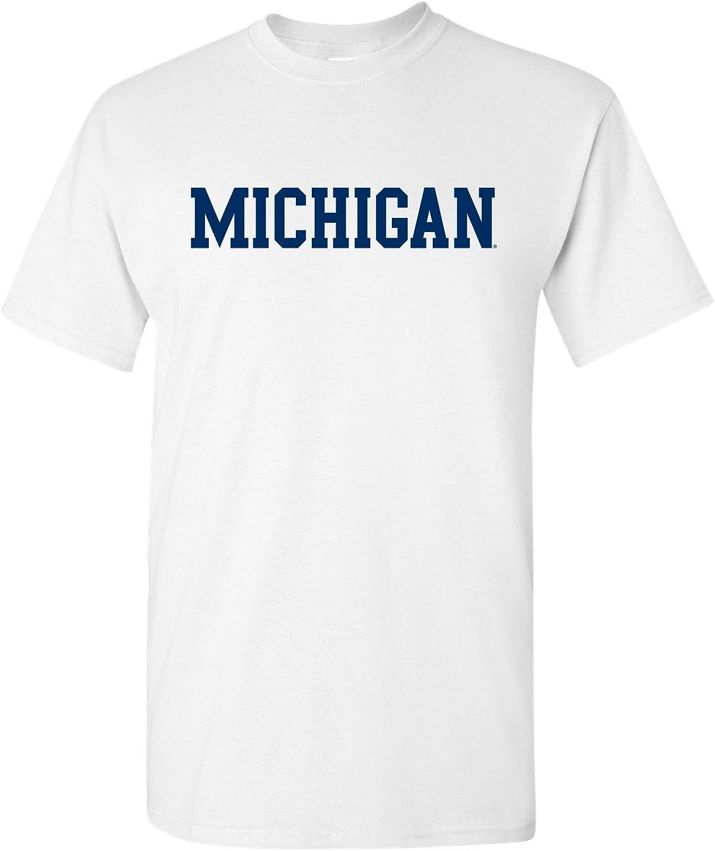 NCAA Basic Block, Team Color T Shirt, College, University