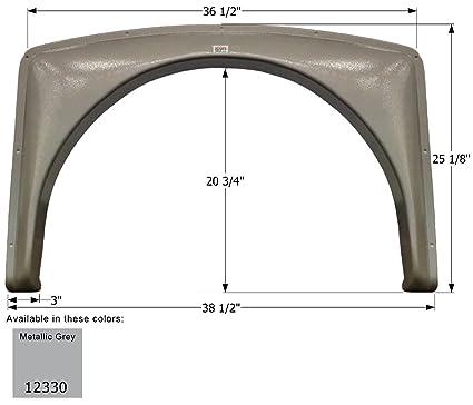 Amazon com: ICON Gulf Stream Single Axle Fender Skirt FS2330