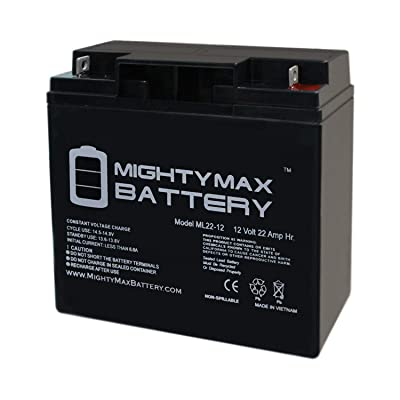 Mighty Max Battery ML22-12 - 12V 22AH Sealed Lead Acid (SLA) Battery for F2 40648 Brand Product: Electronics