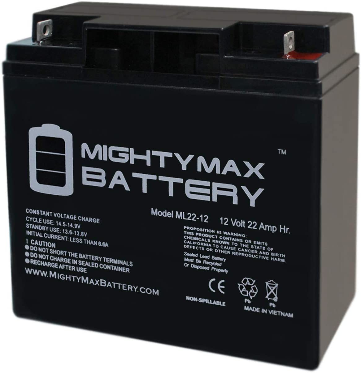 Amazon Com Mighty Max Battery 12v 22ah Replacement Battery For Die Hard Portable Jump Starter 1150 Brand Product Home Audio Theater