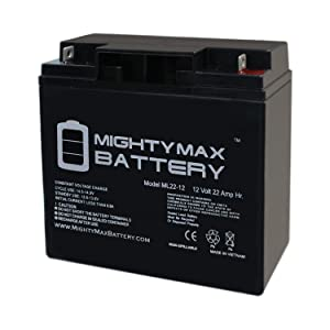 Mighty Max Battery ML22-12 - 12V 22AH Schumacher DSR ProSeries PSJ-2212 Jump Starter Booster Battery Brand Product