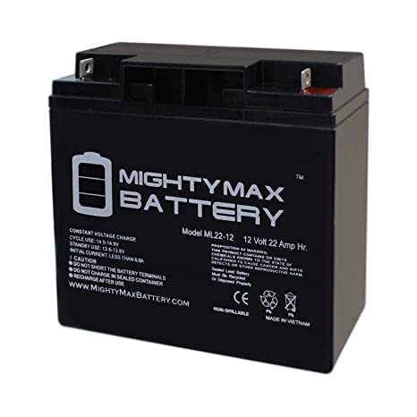 Mighty Max Battery ML22-12 12V 22AH BMW K1200LT K1200RS 51913 Battery Brand  Product