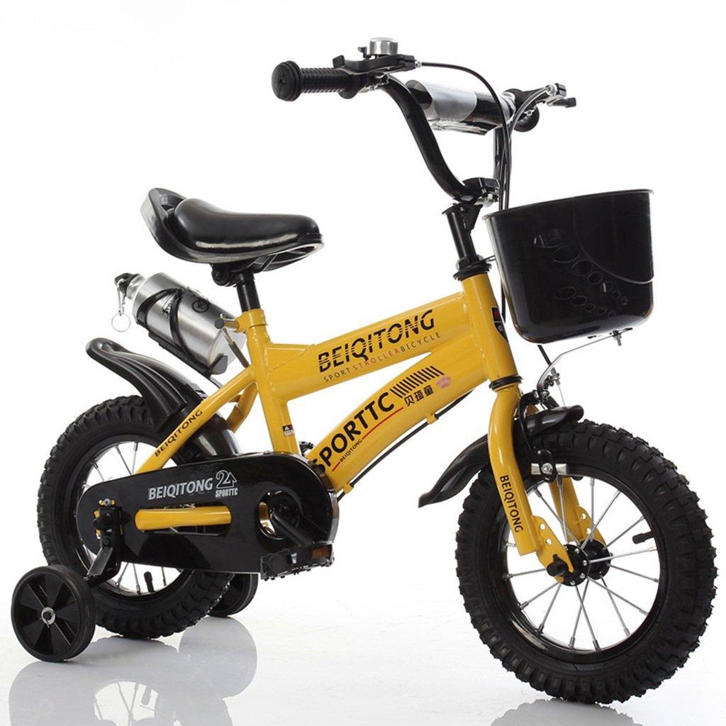 ベビー自転車、男の子自転車の少女自転車の自転車自転車の自転車の自転車の自転車ホイールDiameter30-42CM (色 : イエロー いえろ゜, サイズ さいず : 115CM) B07D2FJQFW 115CM|イエロー いえろ゜ イエロー いえろ゜ 115CM