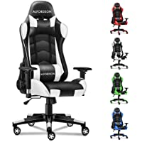 ALFORDSON Gaming Chair Racing Chair Executive Sport Regan Office Chair with PU Leather Armrest Headrest Home Chair in…