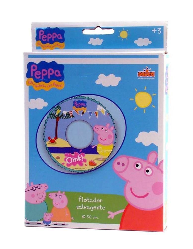 Peppa Pig - Flotador hinchable (Saica Toys 9111): Amazon.es: Juguetes y juegos