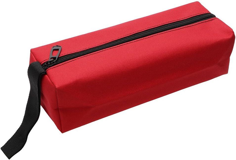 Bolsa organizadora de herramientas Oxford bolsa de almacenamiento para herramientas de mano color rojo