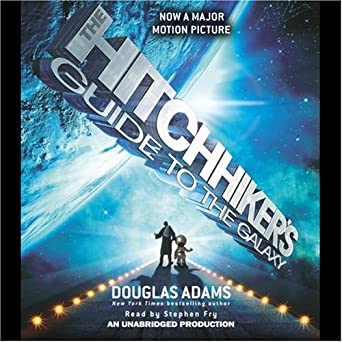 the hitchhiker 39 s guide to the galaxy audible audio edition douglas adams stephen. Black Bedroom Furniture Sets. Home Design Ideas
