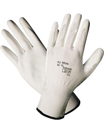 workAnt 1-10 pares - Prof Guantes Trabajo Guante algodón puntos con un suave recubrimiento