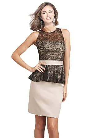 Rong store Womens Short Lace Prom Dress Elegant Party Dress at Amazon Womens Clothing store: