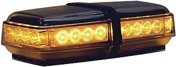 Magnetic 24 LEDs Buyers 8891050 LED Rectangular Amber Mini Lightbar 12VDC