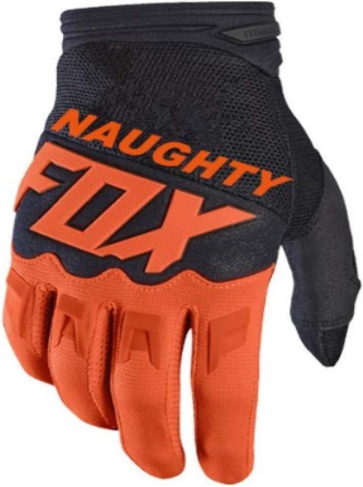 Bruce Dillon 2018 Naughty Fox Mx Racing Orange Gloves Enduro Racing Motocross Dirt Bike Motorcycle Cycling Glove Orange S