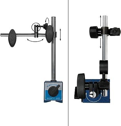 Amagogo Supporto per Base Magnetica per Strumento Indicatore di Prova Metrico A Leva DTI