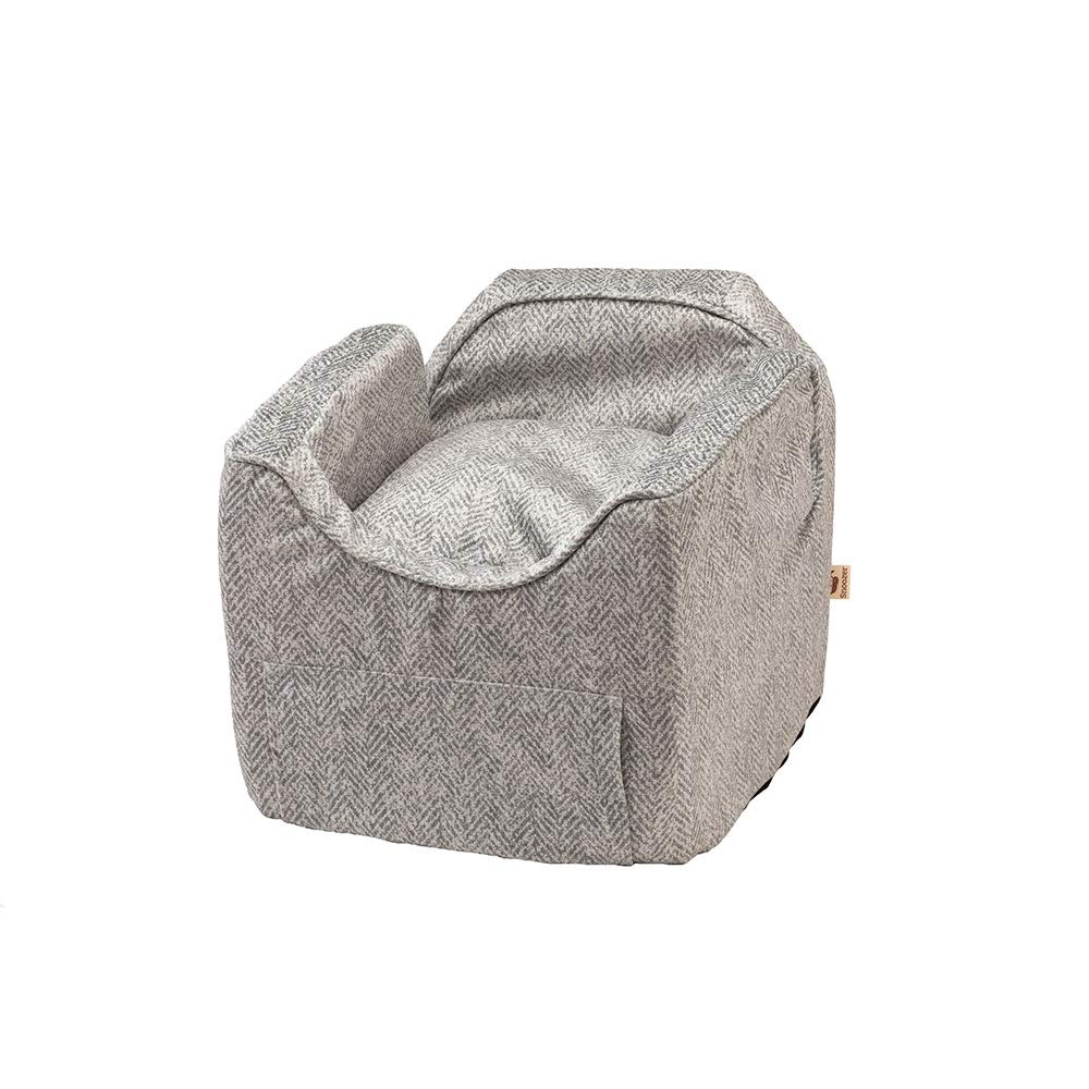 Snoozer Pet Products - Luxury Lookout II Dog Car Seat - Show Dog Collection | Small - Palmer Dove by Snoozer