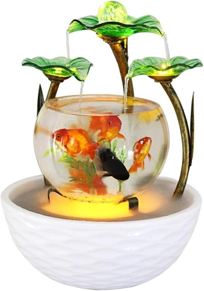 Característica del agua del acuario de mesa del acuario de mesa ...