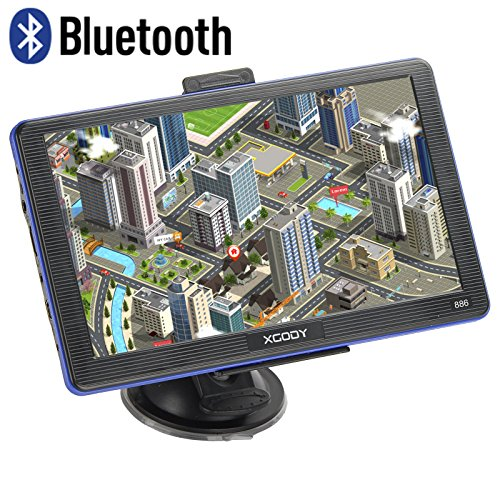 Xgody 886BT Capacitive Touchscreen Navigation