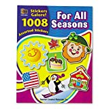 Teacher Created Resources - Sticker Book, For All Seasons, 1,008/Pack