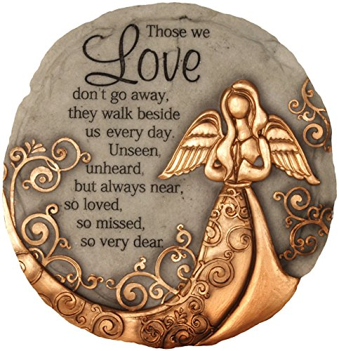 - Spoontiques 13260 Bronze Angel Stepping Stone
