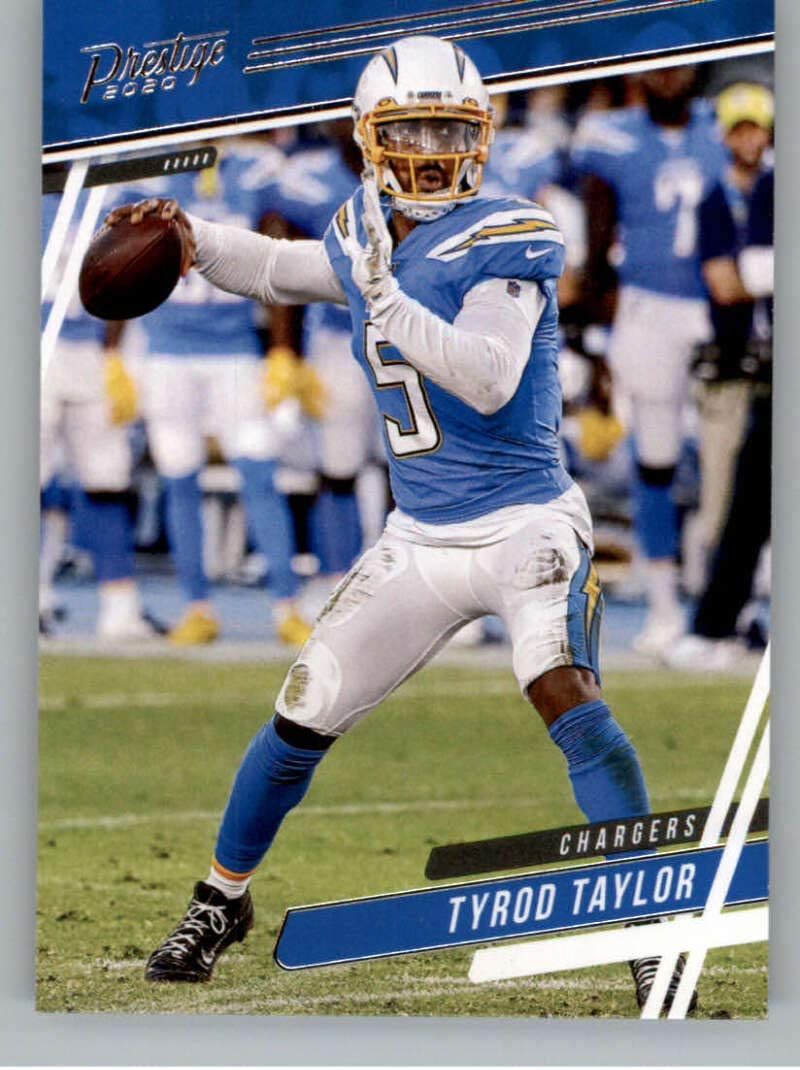 2020 Panini Prestige #56 Tyrod Taylor Los Angeles Chargers Football Card