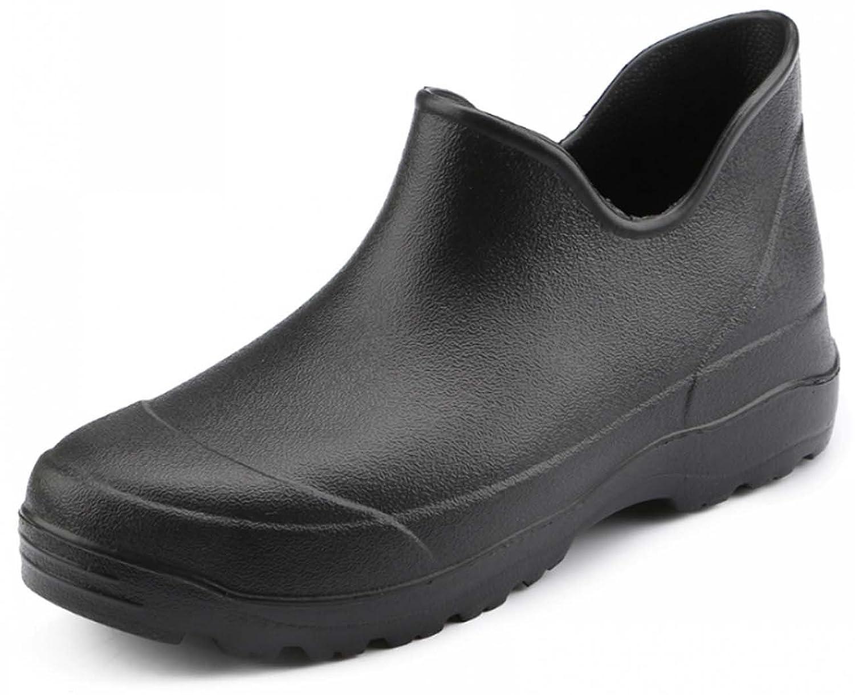 S.S.Men's Premium Garden Clog BlackPink Green Boot